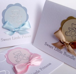 Baby Pastel Cards